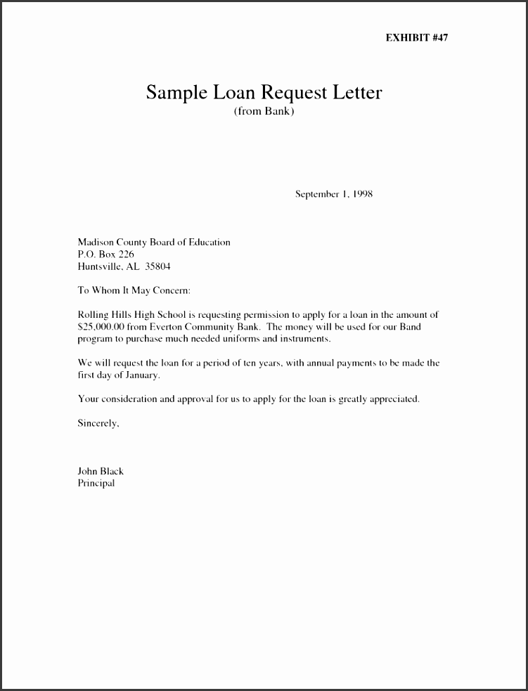 application letter for business loan from bank