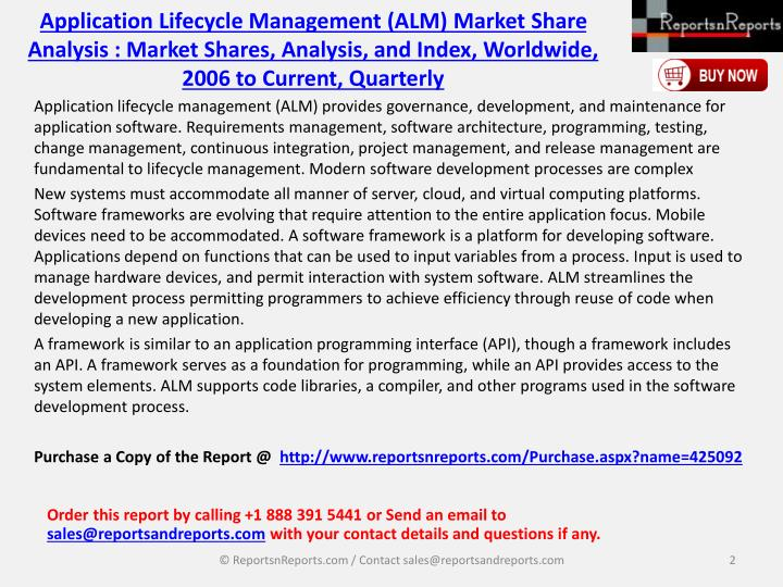 microsoft application lifecycle management alm