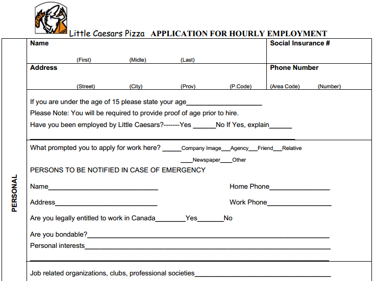 academy sports job application print out
