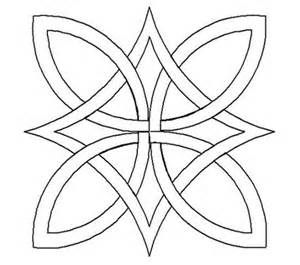 easy shamrock drawing for quilt applique