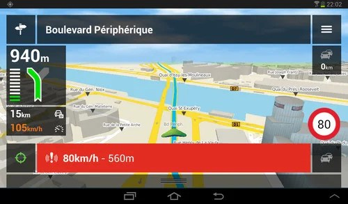 application gps android hors connexion