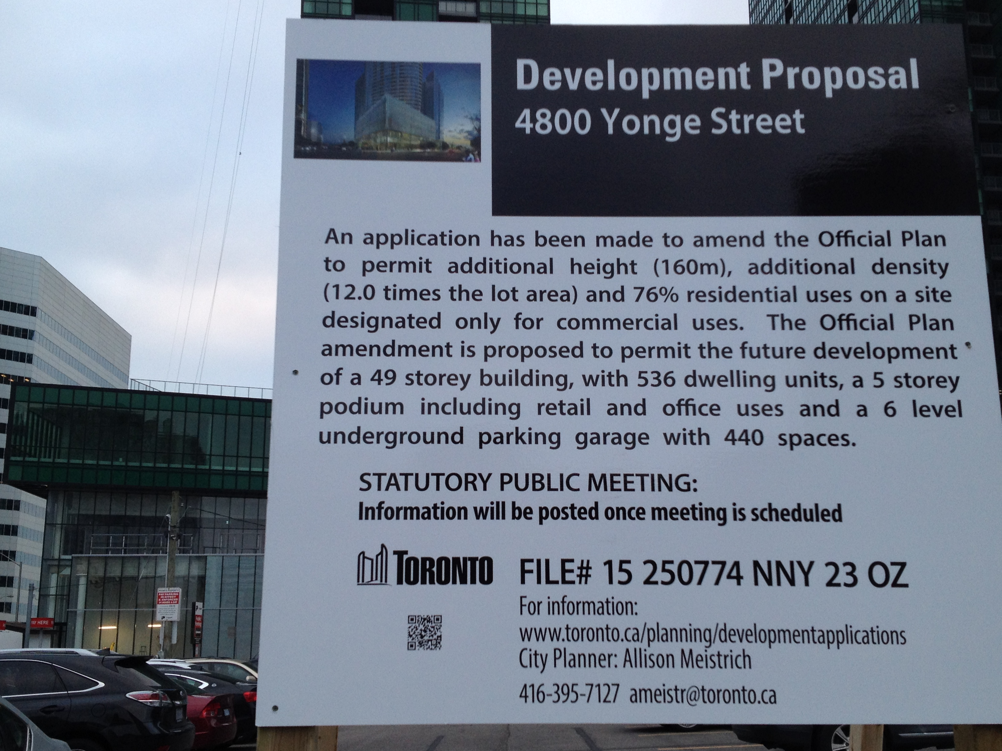 north by northeast toronto application