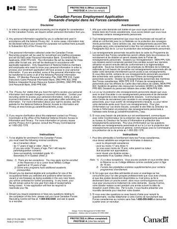 canadian driver application for employment