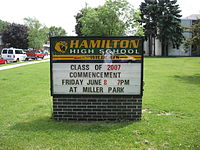 hamilton high school milwaukee applications