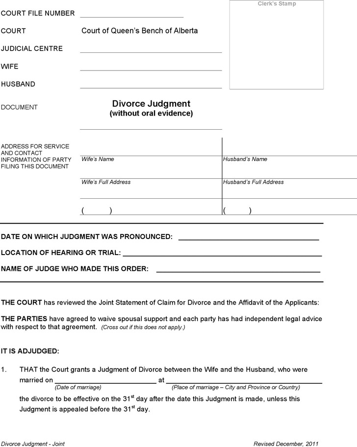 application for surviving joint tenant alberta