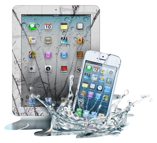 does wet application damage your phone