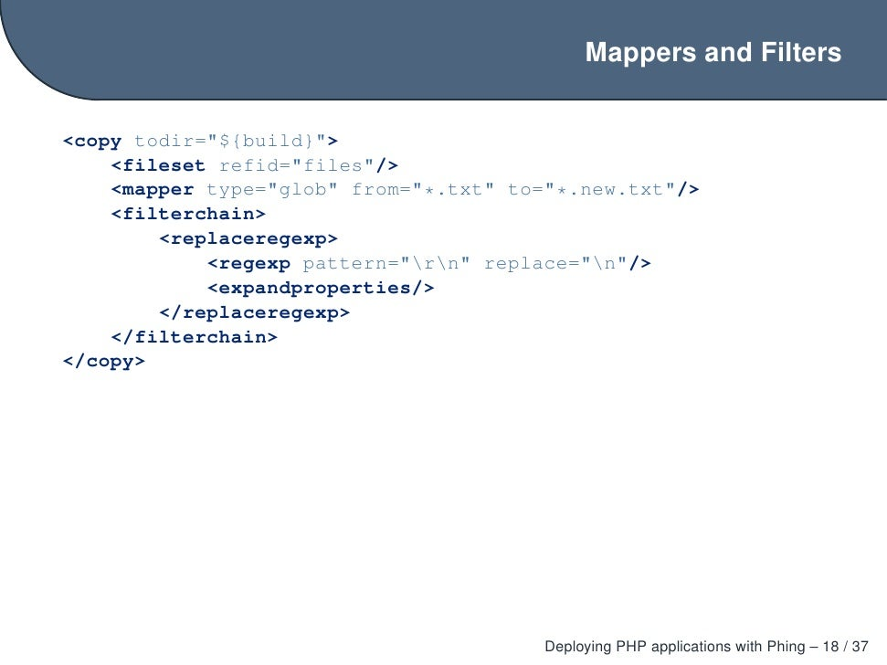 how to deploy a php application wapp